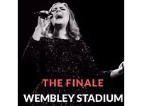 2 x Adele tickets, 2nd July 2017, section 504 Row 33, Wembley