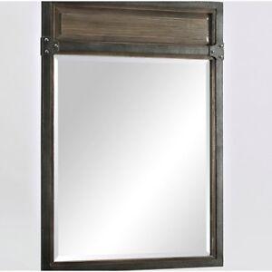 "Fairmont Designs 1401-M24 Toledo 24"" Mirror - Driftwood Gray"