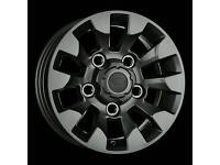 """NEW 18"""" LAND ROVER SAWTOOTH STYLE ALLOY WHEELS X4 BOXED 5X165 DEFENDER 90 100 DISCOVERY TDI"""