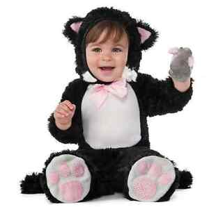 Cat Halloween costume for baby / toddler 12-18 mths - Never worn