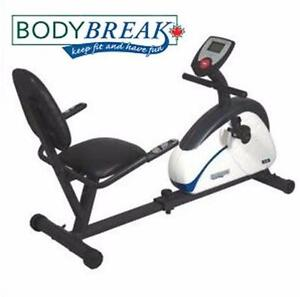NEW BODY BREAK RECUMBENT BIKE FITNESS EXERCISE EQUIPMENT BICYCLE RIDING CYCLING 81432838