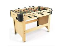 Football table by Jumpstart 4ft NEW unwanted gift
