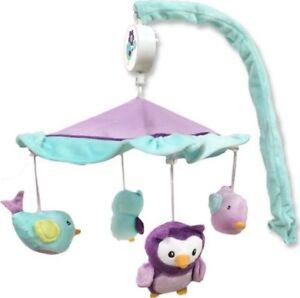 Owl & bird Musical mobile