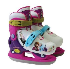2 Pairs of new Frozen adjustable skates