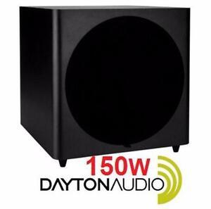 "NEW DAYTON AUDIO 15"" SUBWOOFER   150 Watt Powered Subwoofer - MUSIC SPEAKER AUDIO SYSTEM PERFORMANCE  84649532"