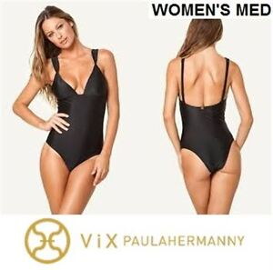 New VIX Black Matelasse One Piece - Women's Med & Kids 1 Piece