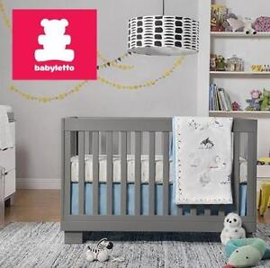NEW BABYLETTO CONVERTIBLE CRIB M6701G 136625667 WITH TODDLER RAIL