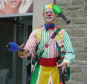 CLOWN on Stilts Juggler & face painter combo package Oakville / Halton Region Toronto (GTA) image 1