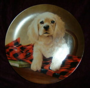 """Shirt Tales Cocker Spaniel"" Collector Plate"