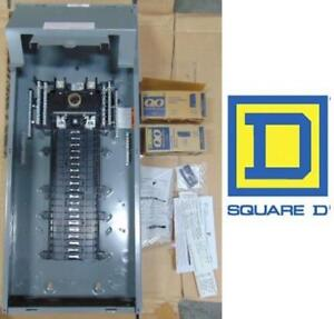 NEW* SQUARE D 200 AMP LOAD CENTER QP40200 191055793 200A 40 SPACES 80 CIRCUIT QWIKPAK BREAKER PANEL