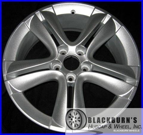 """08 09 10 11 Saab 9 3 18"""" 5x110mm Silver Wheel Factory Rim """"Alu 73"""" 68249"""