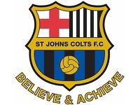 Football, St Johns Colts, worcester, Under 12, 11, 10, 9, 8, 7s required