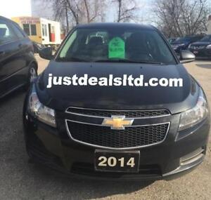 2014 Chevrolet Cruze, LTZ, Certified,Financing available..