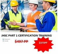 JHSC CERTIFICATION TRAINING