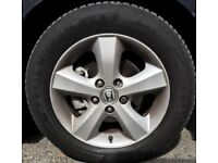 "16""Alloy Wheels with Tyres"
