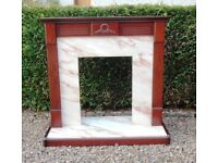 PERFECT FIREPLACE SURROUND - MUST BE SOLD !