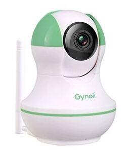BNIB Gynoii WiFi Pan-Tilt HD Video Baby Monitor w Night Vision
