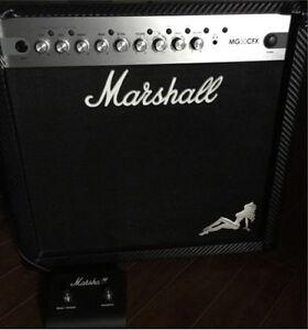 Marshall 50 watt MG50cfx  (Retails new for $600) St. John's Newfoundland image 1
