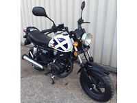 New WK Tomcat 125cc - 1 Year Parts & Labour Warranty! Was £1299 Now £999