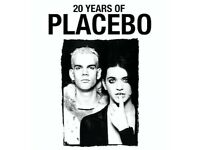 Placebo ticket 24th of October 2017