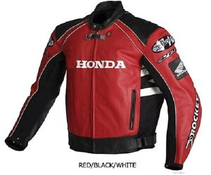 HONDA CBR GENUIN LEATHER MOTORCYCLE JACKET