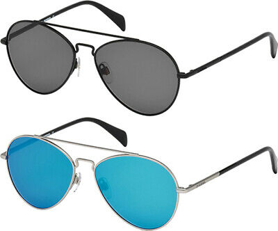 Diesel Men's Classic Double-Bridge Aviator Sunglasses - (Shades Diesel)