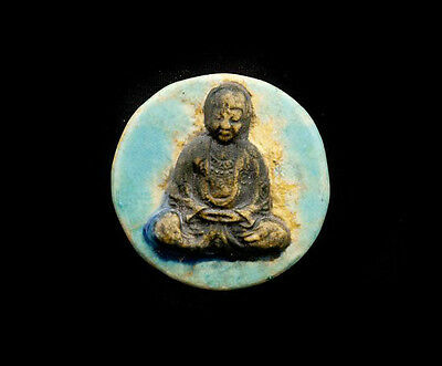 Pendant Of Buddha Position Lotus Ceramic Buddha Creation Craft 8804