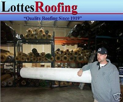 30 Rolls - 10 X 100 45 Mil White Tpo Rubber Roofing