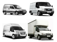 MAN AND VAN HIRE WITH A REMOVAL SERVICE DELIVERY MOVER SMALL LWB BIG & LUTON VANS WITH TAIL LIFT