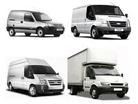 URGENT SHORT NOTICE NATIONWIDE MAN&LUTON VAN HIRE HOUSE/OFFICE REMOVALS COURIER/WASTE RUBBISH MOVERS