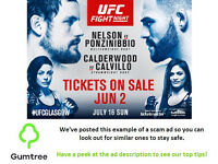 UFC Fight Night Tickets -- Read the ad description before replying!!
