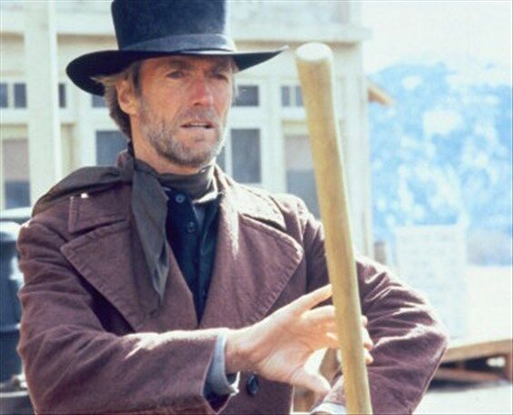 CLINT EASTWOOD AS PREACHER FROM PALE RIDER 8X10 PHOTO lovely image 255256