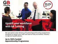 Functional skills training in English & Maths Lv1 & 2 (Equivalent to GCSE) with GB Training UK Ltd.