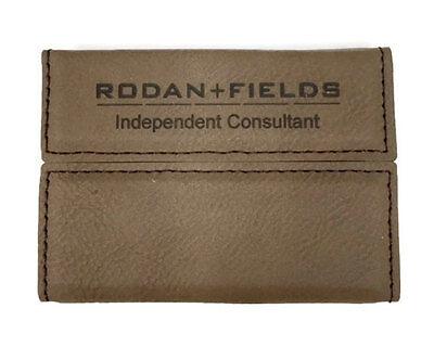 Hardside Business Cases (Rodan + Fields Business Card Holder Case Leatherette Hard Side Personalized Free)
