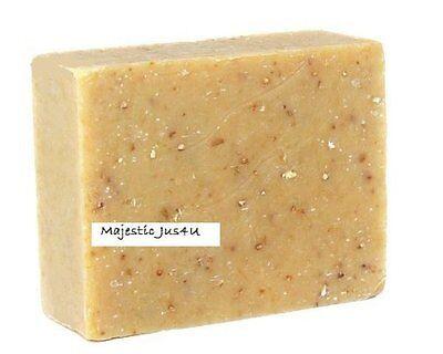 Large Moisturizing Soap (Oatmeal Soap Handmade Super Moisturizing Gentle Exfoliating Unscented Large)