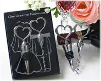 Cheers To A Great Combination Wine Set Wedding Favours