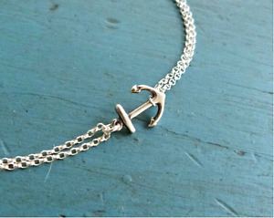 Sterling Silver & Good Anchor Bracelettes