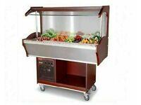Fridge Salad Bar / Buffet counter 1.5 m (wall model) | | cold buffet