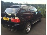 EXCELLENT CONDITION BMW X5 SPORT full of electronics, MOT until 2018
