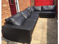 5/6 seater corner Nabru sofa can delivered
