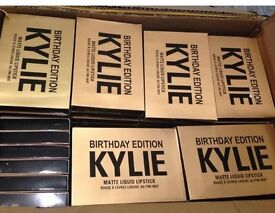 BULK WHOLESALE JOBLOT Kylie Jenner Cosmetics LIMITED EDITION BIRTHDAY COLLECTION Mini lipstick set