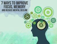 Free report reveals ways to improve your memory, focus, and more