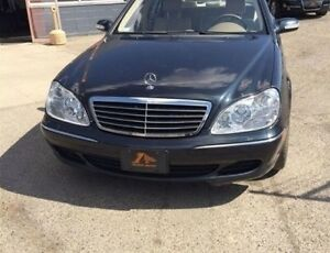 2003 Mercedes-Benz S-Class S430 AWD Sedan 4MATIC LOADED/ LEATHER