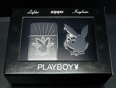 Playboy Zippo Lighter & Key Chain Set (24464)