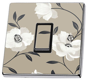 stone floral light switch sticker vinyl arthouse opera butterfly themed kids wall stickers contemporary wall