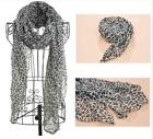Long Leopard Scarf