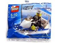 LEGO City 30002 Mini Police Boat – Unopened - Great Christmas stocking filler