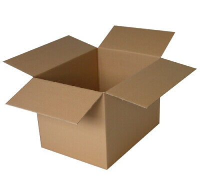 10 x Double Wall Cardboard Boxes Postal Packing Postage Shipping Box 254mm 10
