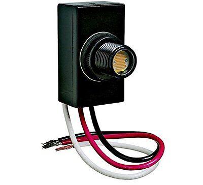 Flush Mount Dusk Dawn Button Photo Control Eye Photocell 120v Raintight