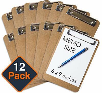 Mini Clipboard 6 X 9 Set Of 12 Memo Clipboard Small Clipboard Eco Friend